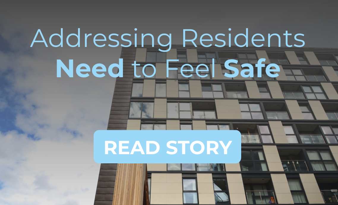 addressing residents