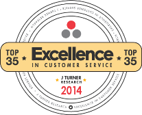 J Turner Announces the 2014 Top 35 Properties for Excellence in Customer Service